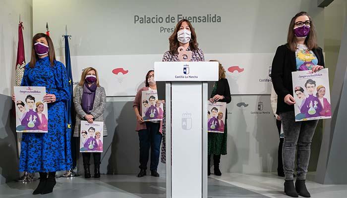 El Gobierno de Castilla-La Mancha dará voz y visibilizará el papel imprescindible de las mujeres en el acto institucional del 8-M