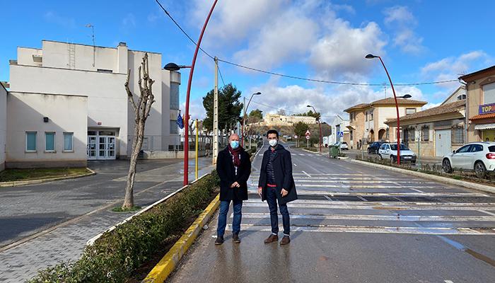 El Gobierno regional acondiciona y cede al Ayuntamiento de Minglanilla dos tramos de la CM-211 a su paso por la localidad