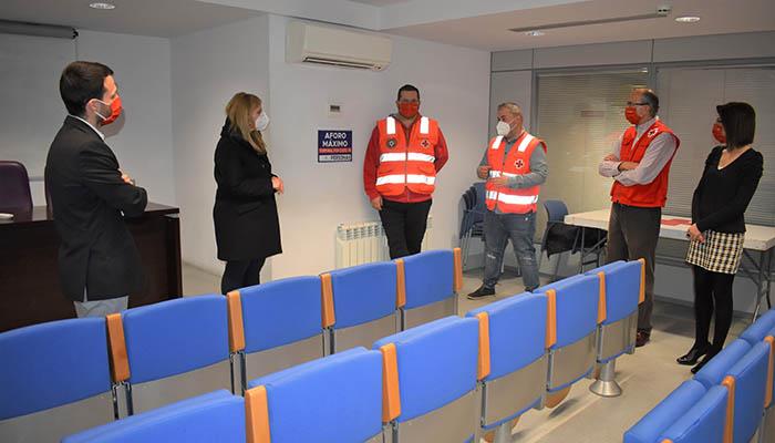 El Gobierno regional destaca el compromiso de los voluntarios de Cruz Roja ante adversidades como ´Filomena´ o la COVID-19