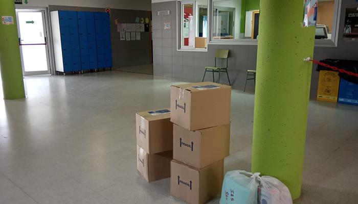 El Gobierno regional envía a los centros educativos de la provincia de Cuenca alrededor de 30.000 unidades de material de protección