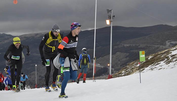El quintanareño Tomás Cuartero, Campeón de España de snow running en categoría promesa