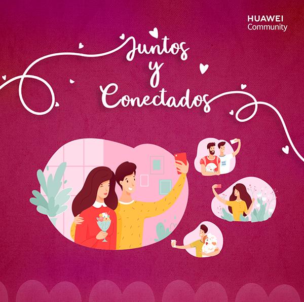 Huawei Community conecta con sus HuaFans a través del concurso #SanValentinHUAWEI