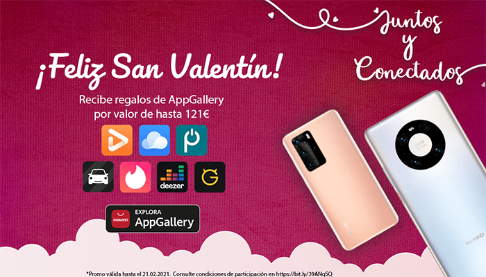 """Huawei lanza nuevas promociones para San Valentín con su campaña """"Juntos y Conectados"""""""