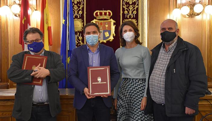 La Diputación de Cuenca y Acción Contra el Hambre formarán a 15 desempleados en el cuidado de personas dependientes