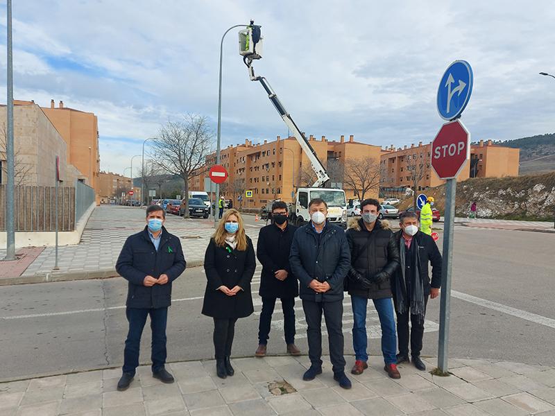 La segunda fase de renovación de las luminarias de Cuenca alcanza 5.500 puntos de luz con una inversión de 1,5 millones de euros