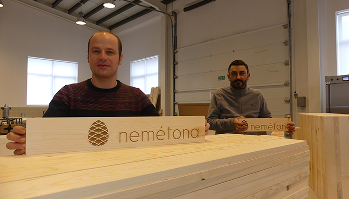 Nemétona, surgida en UFIL, incorpora materias primas sostenibles de bosques de Cuenca al sector de la construcción