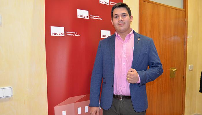 Óscar Sánchez repite como delegado de Estudiantes de la UCLM