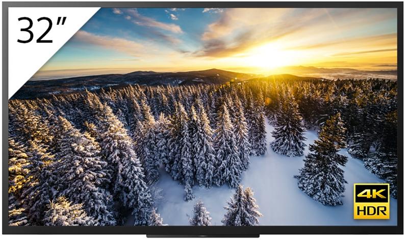 Sony amplía su gama de monitores profesionales BRAVIA 4K HDR con sus opciones de 100 y 32 para uso empresarial