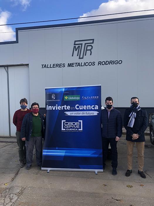 Talleres Metálicos Rodrigo se suma al proyecto Invierte en Cuenca con su planta de recuperación de residuos de poliuretano
