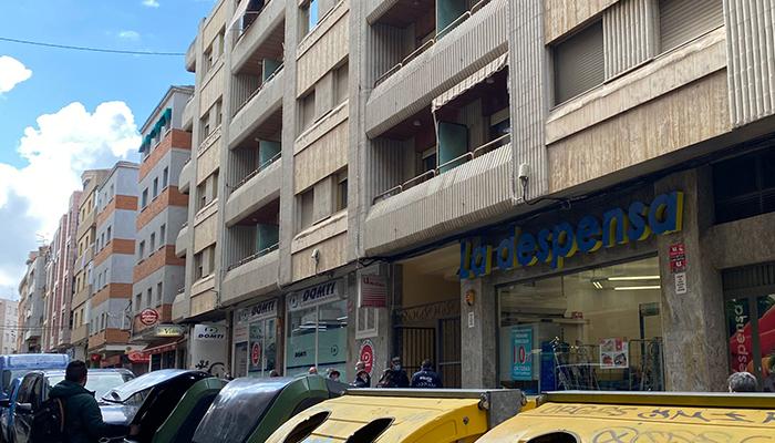 Detenido un hombre por herir con un arma blanca a otro en la calle Colón de Cuenca