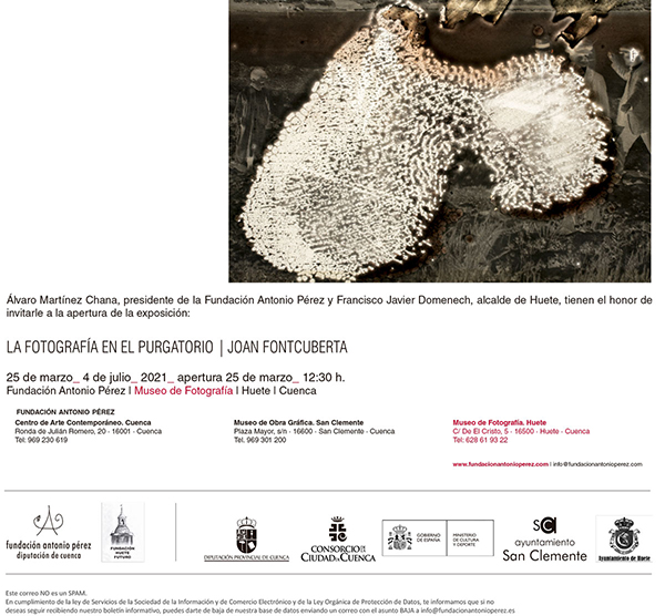 El artista Joan Fontcuberta reabre el Museo de Fotografía de Huete
