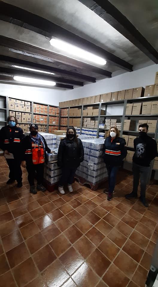 El Ayuntamiento de San Clemente recibe 6.100 kilos de comida del Banco de Alimentos