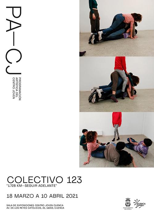 El Centro Joven de Cuenca inaugura este jueves la exposición '1.728 km. Seguir adelante' de Colectivo 123