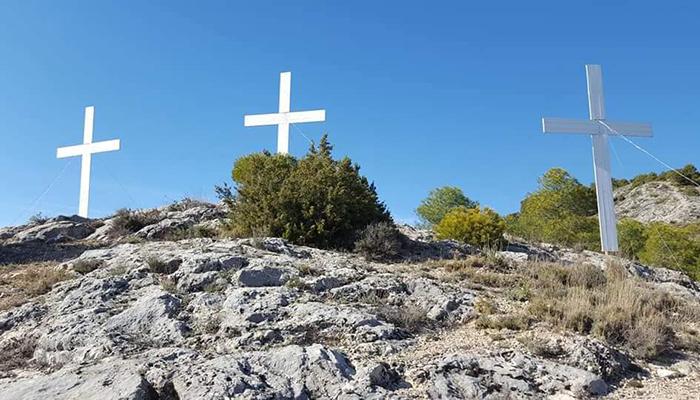 El Cerro de la Majestad de Cuenca también tendrá este año las tres cruces