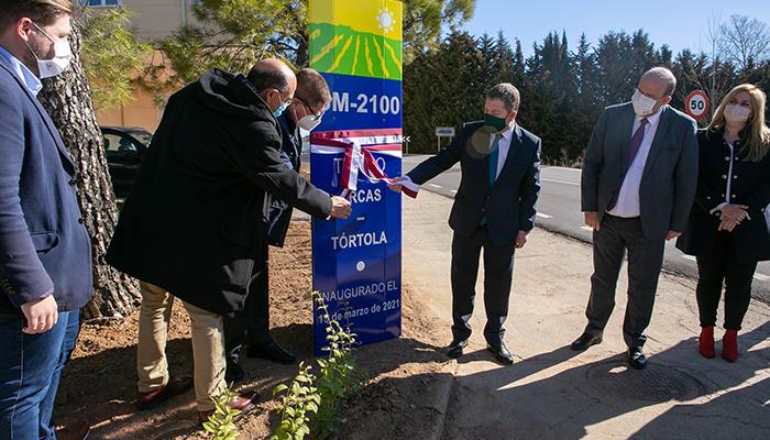 El Gobierno de Castilla-La Mancha finaliza las obras de mejora de la CM-2100 entre Arcas y Tórtola
