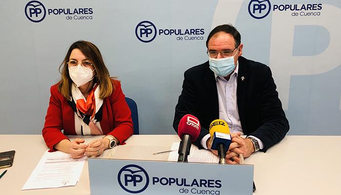 """El PP de Cuenca califica la gestión de la Junta tras cumplirse un año de pandemia como """"el peor gobierno que hemos podido tener"""""""