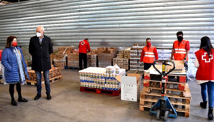 El Programa de Ayuda Alimentaria 2020 ha repartido en la provincia de Cuenca 241.891 kilos de alimentos, habiéndose beneficiado más de 10.000 personas