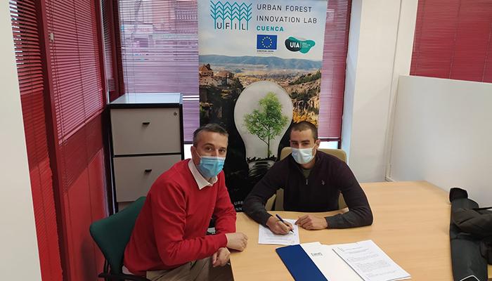 El vivero de empresas de AJE ya acoge a una de las empresas que han participado en la primera edición de UFIL