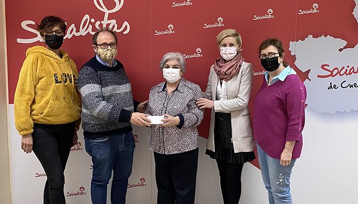 La Agrupación Local del PSOE de Cuenca reonoce a Isabel Rosas Huelga