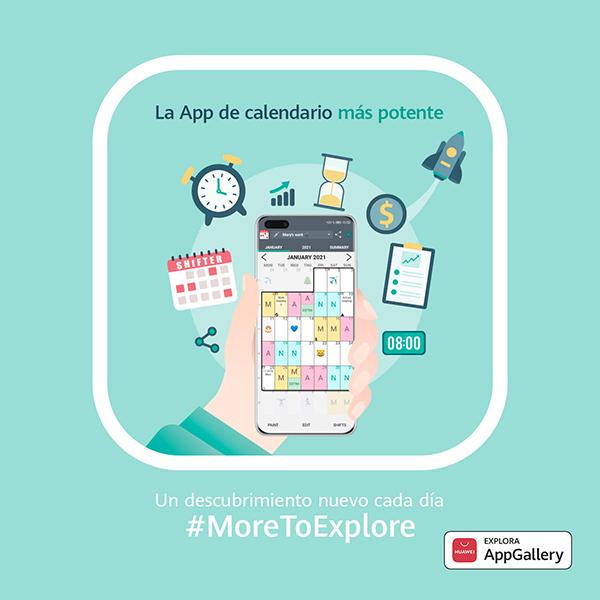 La App de origen español Calendario de Turnos (Shifter) llega al mercado chino gracias al apoyo de HUAWEI AppGallery