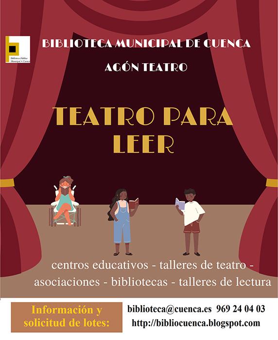 La Biblioteca Municipal de Cuenca y la Asociación Agón Teatro unen sus fuerzas para crear Teatro para leer