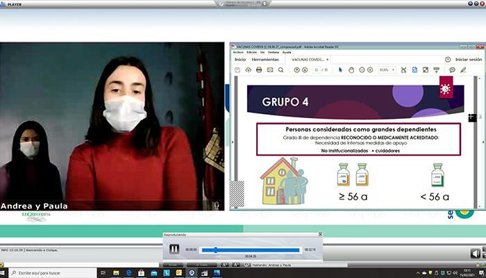 La Gerencia del Área Integrada de Cuenca retoma las sesiones formativas para los profesionales sanitarios de manera on-line
