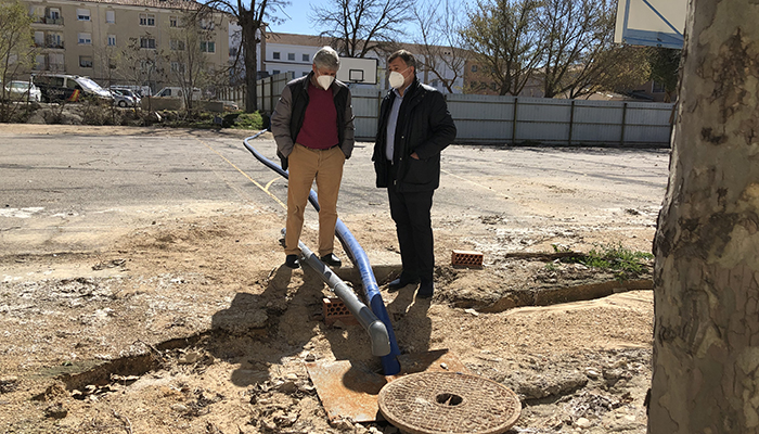 """La rotura del principal colector de agua de Cuenca implicará una obra de """"gran envergadura"""" a 18 metros de profundidad"""