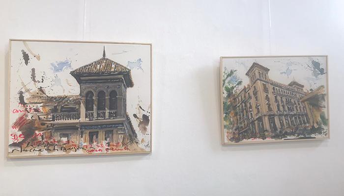 La Sala de Exposiciones Iberia acoge la exposición ´De todo, un poco´ del artista Pedro Romero Sequí