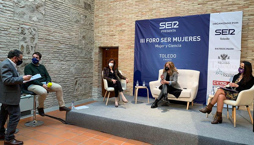 La UCLM participa en el III Foro SER Mujeres, organizado en Toledo por la Cadena SER