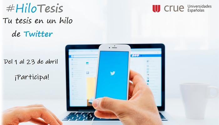 La UCLM se suma al concurso 'Tu Tesis Doctoral en un Hilo de Twitter #HiloTesis'