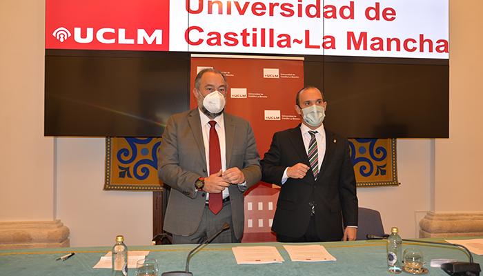La UCLM y las Cortes renuevan su colaboración con nuevas acciones encaminadas a un mejor conocimiento y cohesión de la región