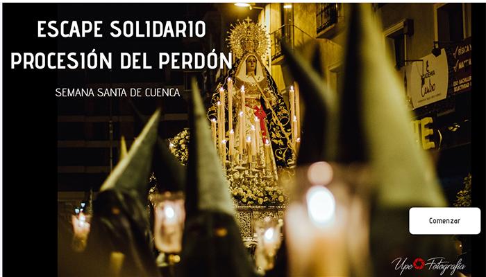 """La V. H. de María Stma. de la Esperanza lanza un """"Escape online solidario"""" sobre la procesión del Perdón"""
