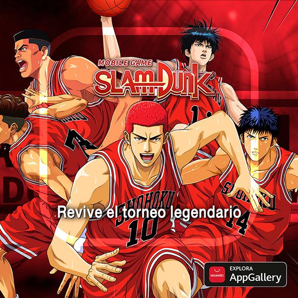 Los años 90 llegan a Appgallery con SLAM DUNK, el videojuego de baloncesto más esperado