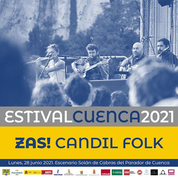 María José Llergo y Zas! Candil Folk, nuevas confirmaciones en Estival Cuenca 21