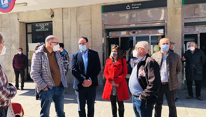 """Prieto anima a defender nuestro tren y acusa a las instituciones socialistas de """"discriminar y atacar, de nuevo, a la provincia de Cuenca"""""""