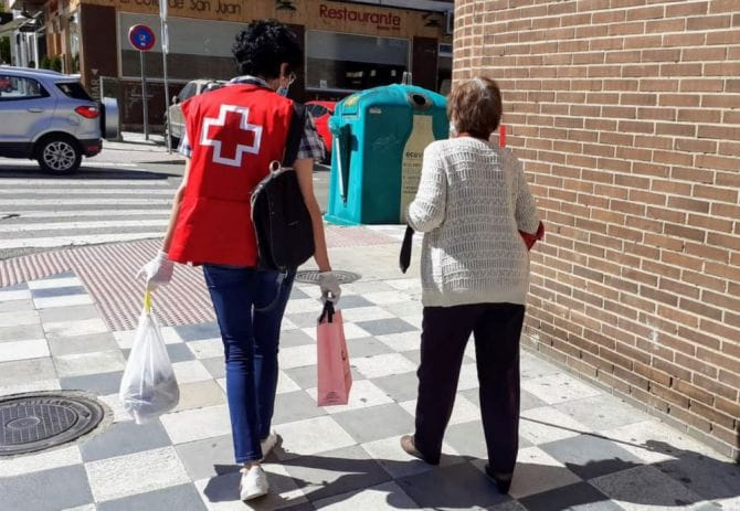 Un año del Plan Responde Cruz Roja triplica su intervención prevista ipara hacer frente a la pandemia y atiende a 10.499 personas en Cuenca