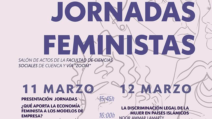 La Facultad de Ciencias Sociales del Campus de Cuenca acoge unas Jornadas Feministas enfocadas en la economía y el derecho