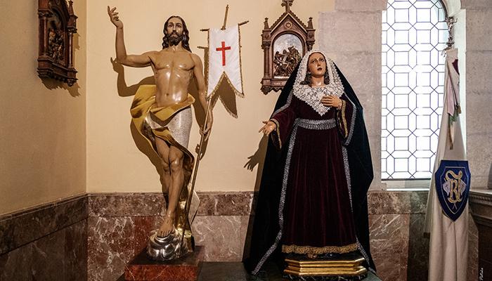 Veneración conjunta de San Juan Apóstol Evangelista y la V.H. de Nuestro Señor Resucitado y María Santísima del Amparo