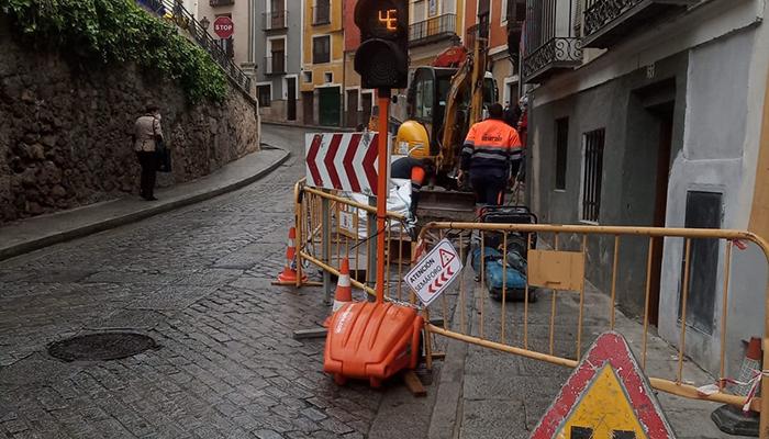 Aguas obras Alfonso VIII