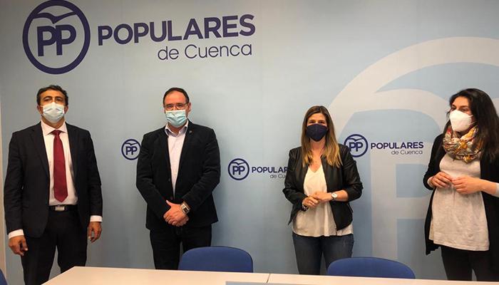 """Agudo felicita a `Tu Abandono Me Puede Matar´ por liderar desde el primer momento este proyecto """"Es una gran noticia para Cuenca, su provincia y para toda Castilla-La Mancha"""""""