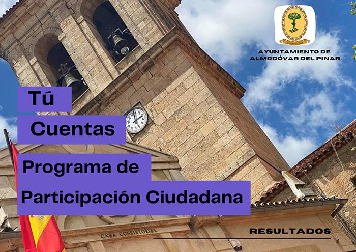 Almodóvar del Pinar finaliza con éxito el proceso de participación ciudadana para la mejora de sus servicios