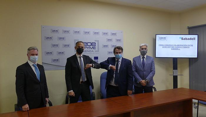 CEOE-Cepyme Cuenca y el Banco Sabadell seguirán juntos en apoyo de las empresas de la provincia