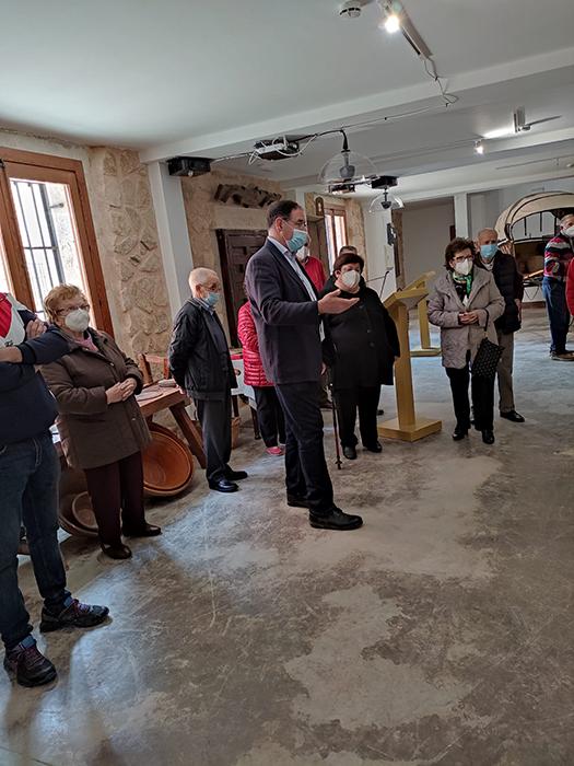 Cerca de 200 personas han visitado este fin de semana la Casa de Oficios 'Lucas de Iranzo' de Fuentelespino de Haro
