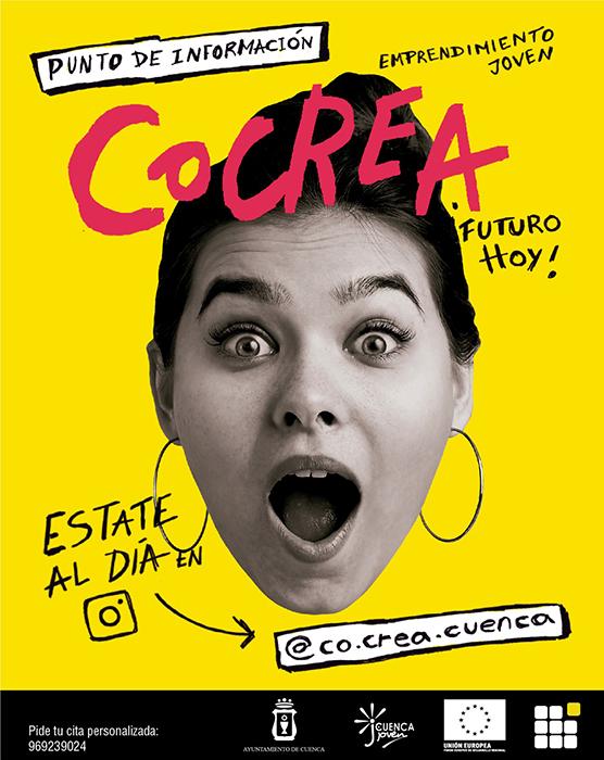 El Ayuntamiento de Cuenca pone en marcha CoCrea, punto de información y asesoramiento sobre formación y emprendimiento