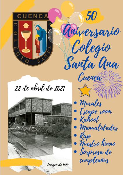 El CEIP Santa Ana de Cuenca cumple 50 años