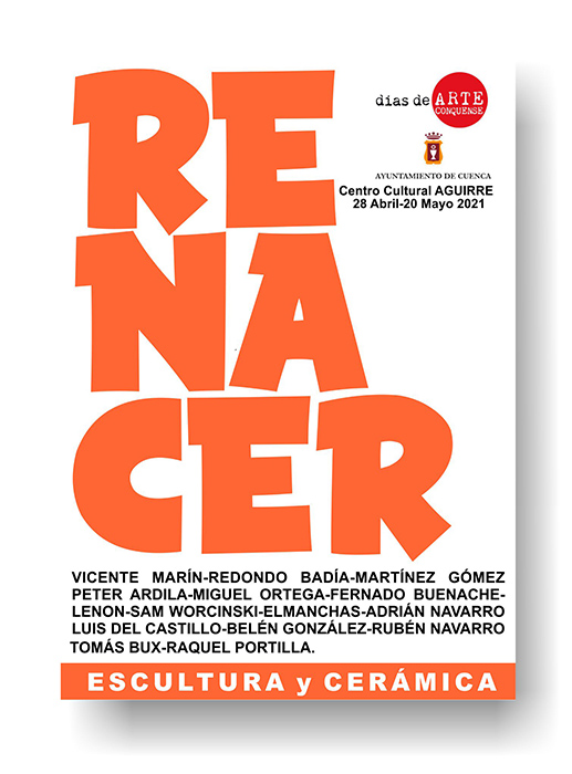 El Centro Cultural Aguirre acoge la exposición colectiva de escultura y cerámica Renacer III