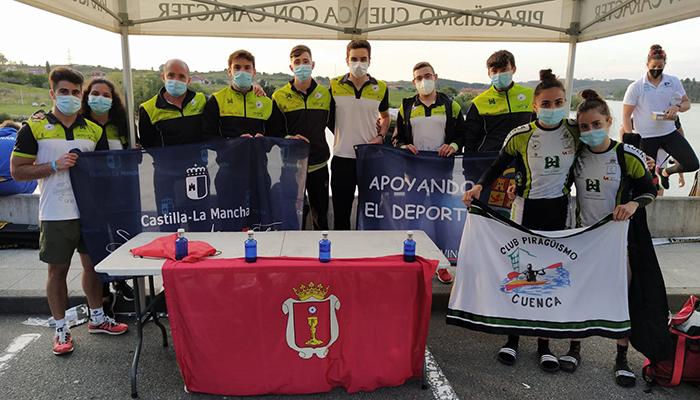 El Club Piragüismo Cuenca con Carácter participa en el Selectivo Nacional y en la I Copa de Sprint Olímpico