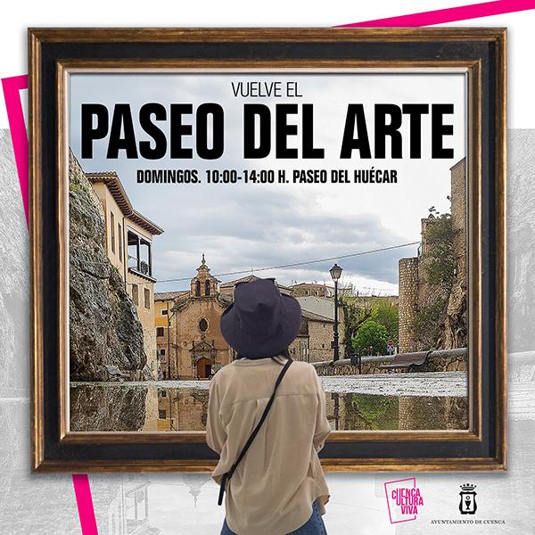 El Paseo del Arte de Cuenca vuelve este domingo con más de una veintena de artistas