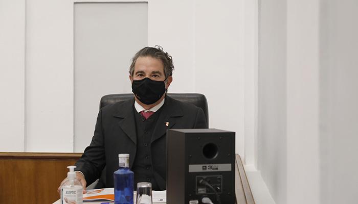 El Pleno elige al diputado de Cs por Guadalajara Javier Sevilla como nuevo secretario segundo de la Mesa