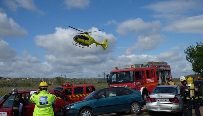 El Servicio de Emergencias 1-1-2 de Castilla-La Mancha coordinó la actuación en 152 accidentes de tráfico graves durante el pasado año